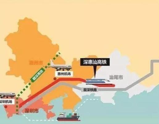 定了!深圳計劃開通一條新高鐵,時速350公里,將連接惠州汕頭! - 每日頭條