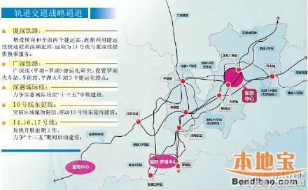 深圳地鐵連接惠州規劃圖曝光 - 每日頭條