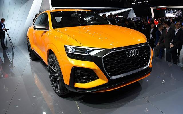 奧迪這次發飆了!新車配無框車門和V8發動機。賣50萬還買啥寶馬X7 - 每日頭條