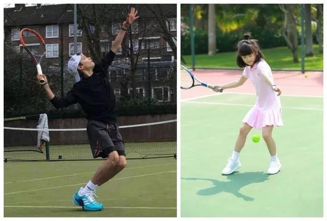 森碟變身「網球少女」。展現網球魅力!如何培養孩子打網球? - 每日頭條
