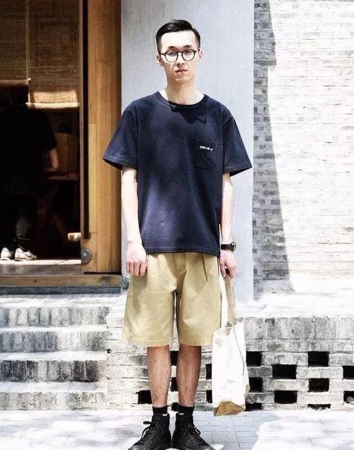 潮男夏季短褲穿搭,帥氣顯高! - 每日頭條