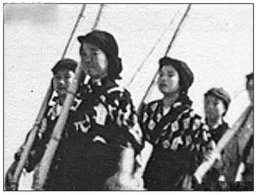 二戰時日本軍妓是如何煉成的:訓練強度絲毫不亞於軍人 - 每日頭條