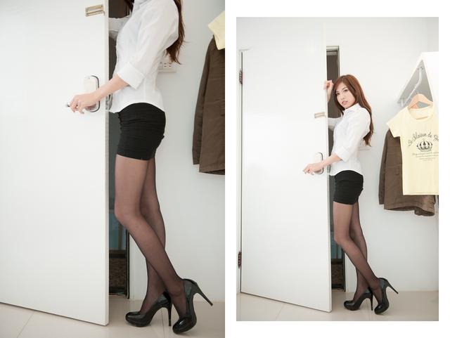 醉愛你妹——性感職業裝美女。黑絲短裙的誘惑 - 每日頭條