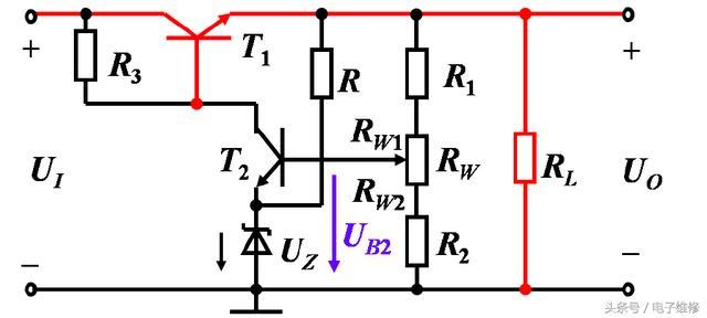 串聯穩壓電路原理簡單介紹 - 每日頭條