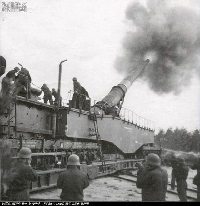 炮彈比豪沃大卡還重 二戰德國列車炮家族 - 每日頭條