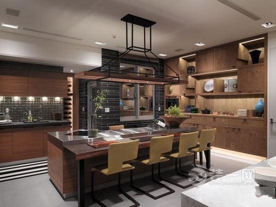 一個中島式吧檯就能讓廚房逼格提高八度 這有15款 拿走不謝! - 每日頭條
