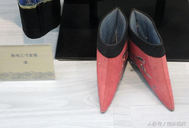 有個城市,既能看展覽的「三寸金蓮」鞋,還可看京劇《三寸金蓮》 - 每日頭條