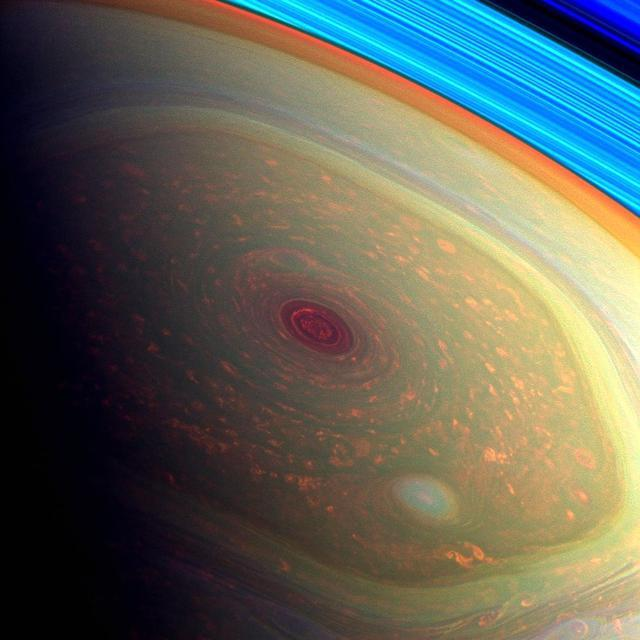 一個在土星環中冒死跳舞的傢伙。成績斐然。新近發現土豪金渦流 - 每日頭條