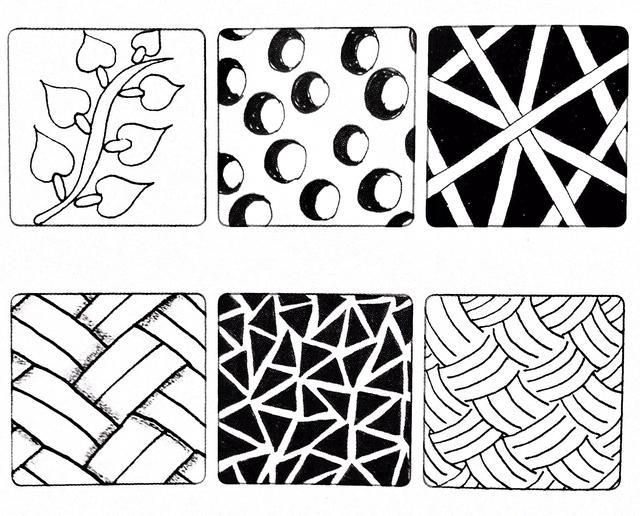簡單就是終極的複雜——禪繞畫 基本圖樣(八) - 每日頭條