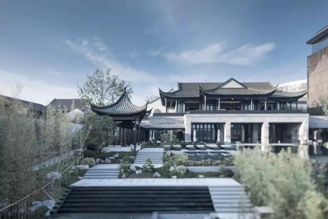 安吉悅榕莊:新中式建築的典範 - 每日頭條