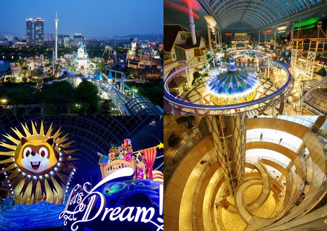 去韓國,怎麼能錯過夢幻的主題樂園—樂天世界~ - 每日頭條