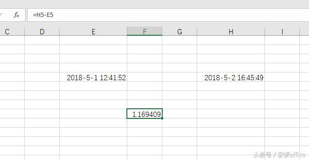 Office講師專欄|如何計算兩個日期時間之間的小時數? - 每日頭條