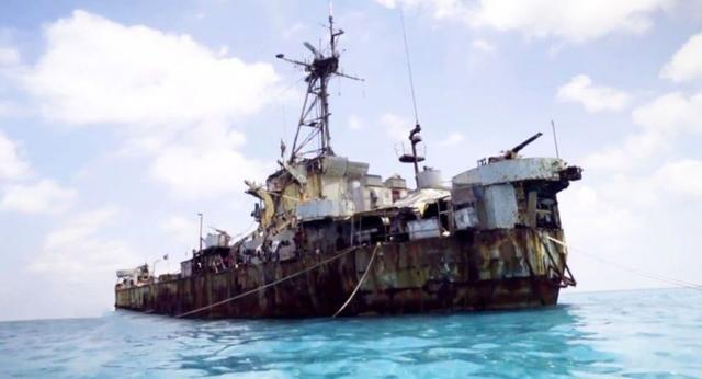 看你還能占多久 仁愛礁破船今昔對比有哪些新變化 - 每日頭條