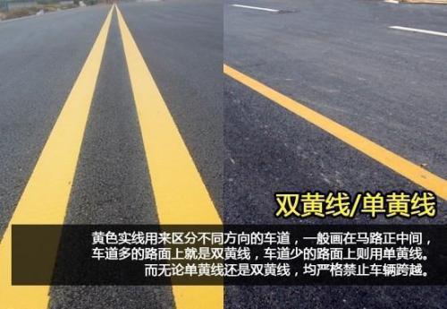 道路中間的單黃線和雙黃線區別是什麼?難倒十年老司機! - 每日頭條