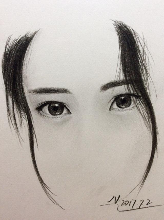 手繪,眼睛怎麼畫 - 每日頭條