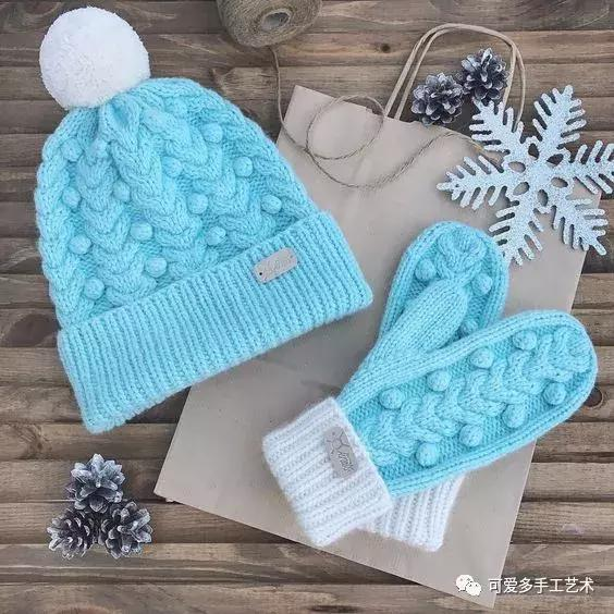 毛衣,手套,帽子,圍脖……有了這些編織花樣,怎麼織都好看!(附圖解) - 每日頭條