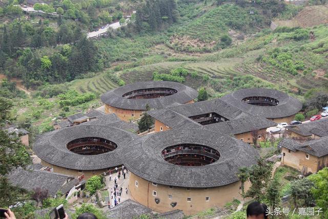中華建築魁寶,福建客家土樓——田螺坑(四菜一湯)土樓群 - 每日頭條