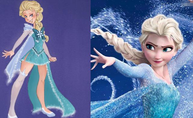 當迪士尼公主變成美少女戰士,樂佩變美了,花木蘭有點詭異! - 每日頭條