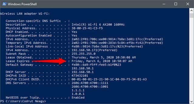 如何在Windows 10中更改DHCP租約時間 - 每日頭條