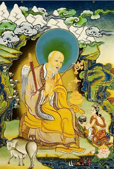 唐卡世界裡的十八羅漢圖(高清圖文) - 每日頭條