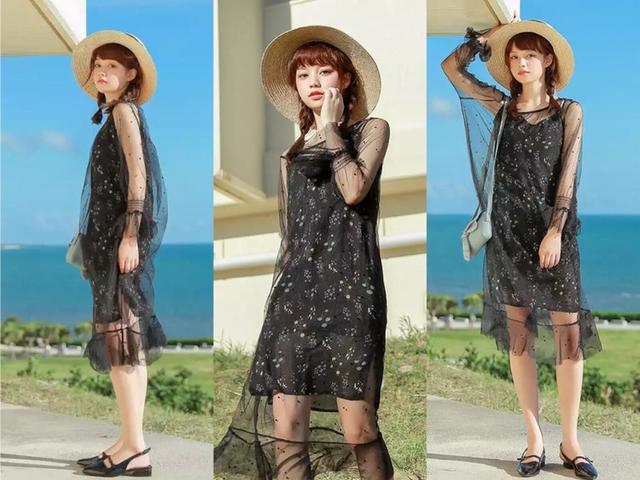黑色衣服怎麼穿才好看?跟學著這4款搭配。不僅好看。還特時髦! - 每日頭條