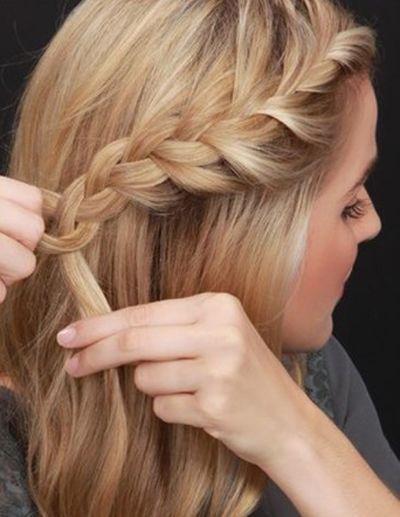 3款都能自己扎的帶編髮的髮型,好看就要從頭開始! - 每日頭條