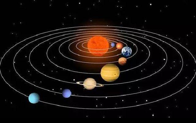 小科普:太陽系八大行星的公轉與自轉時間,記住了能向人顯擺哈 - 每日頭條