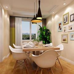 Tall Table And Chairs For Kitchen Buy Modern Cabinets Online 家中餐厅学习这样装 不是一般的高大上 每日头条 的不是一般的高大上 毕竟餐厅是用餐的地方 装的高端大气一些 可以让生活多一些格调 餐厅打造的是一个小的空间 在厨房的外面 摆放的是北欧风实木餐 桌椅 墙壁