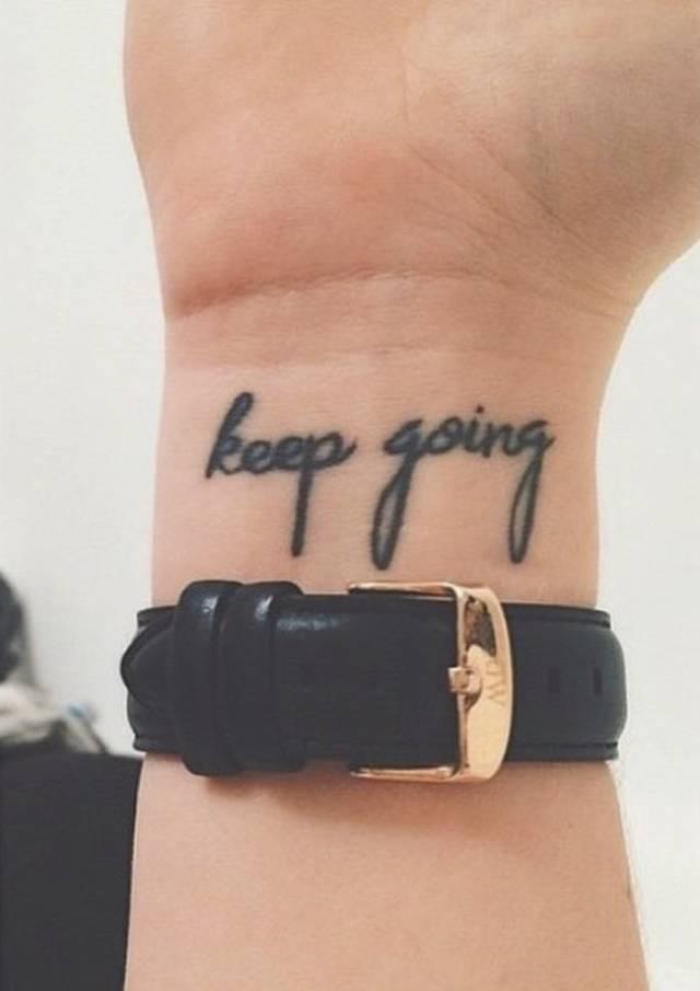 刺青   「字形紋身」語句參考,定製屬於你的個性印記 - 每日頭條