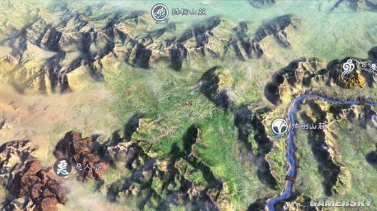 《俠客風雲傳前傳》城鎮地圖區域一覽 夕陽美如畫 - 每日頭條
