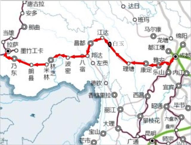 五條天路(進藏鐵路),你可知道,哪個更美,哪個更難! - 每日頭條