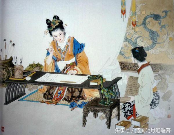 梳篦、簪、簪花、髮釵、步搖、華勝。教你如何區分古代女子的頭飾 - 每日頭條