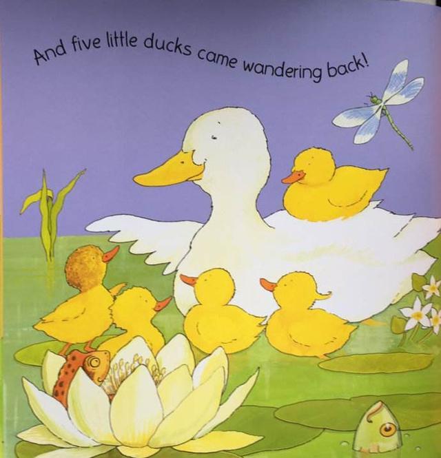 讀英文繪本《五隻小鴨子》學簡筆畫鴨子的畫法 - 每日頭條