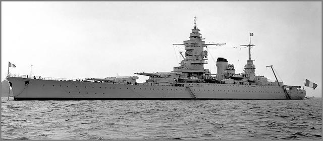華盛頓海軍條約之外的歐洲高速戰列艦 - 每日頭條