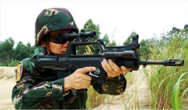 中國新步槍即將全面配發部隊。95式成為歷史 - 每日頭條