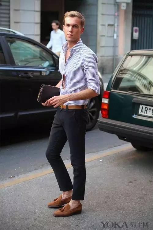 九分褲時髦穿搭術! 做夏日裡的長腿型男 - 每日頭條