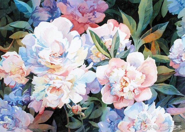 美國畫家布麗姬特奧斯汀 水彩作品欣賞 - 每日頭條