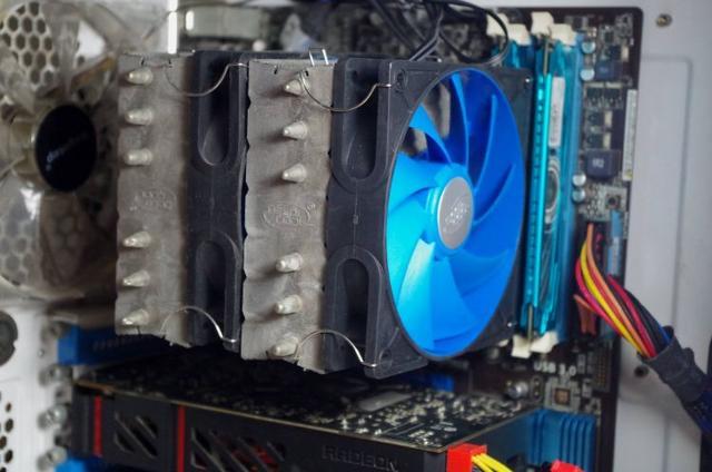 雙層扇葉的電腦散熱風扇。你見過嗎? - 每日頭條