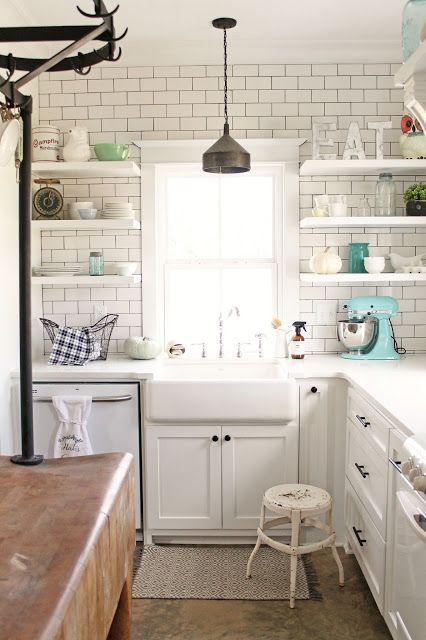 kitchen wall art decor make your own island 有一种叫 地下铁 的砖正悄悄风靡厨房 每日头条 作为厨房墙上的艺术装饰的地铁砖