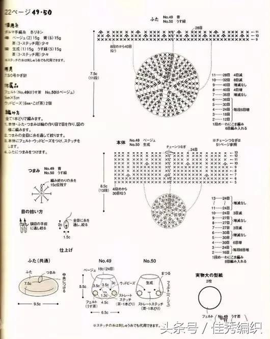 手工鉤針收納籃收納筐教程圖解大全 家中最強的收納神器 - 每日頭條