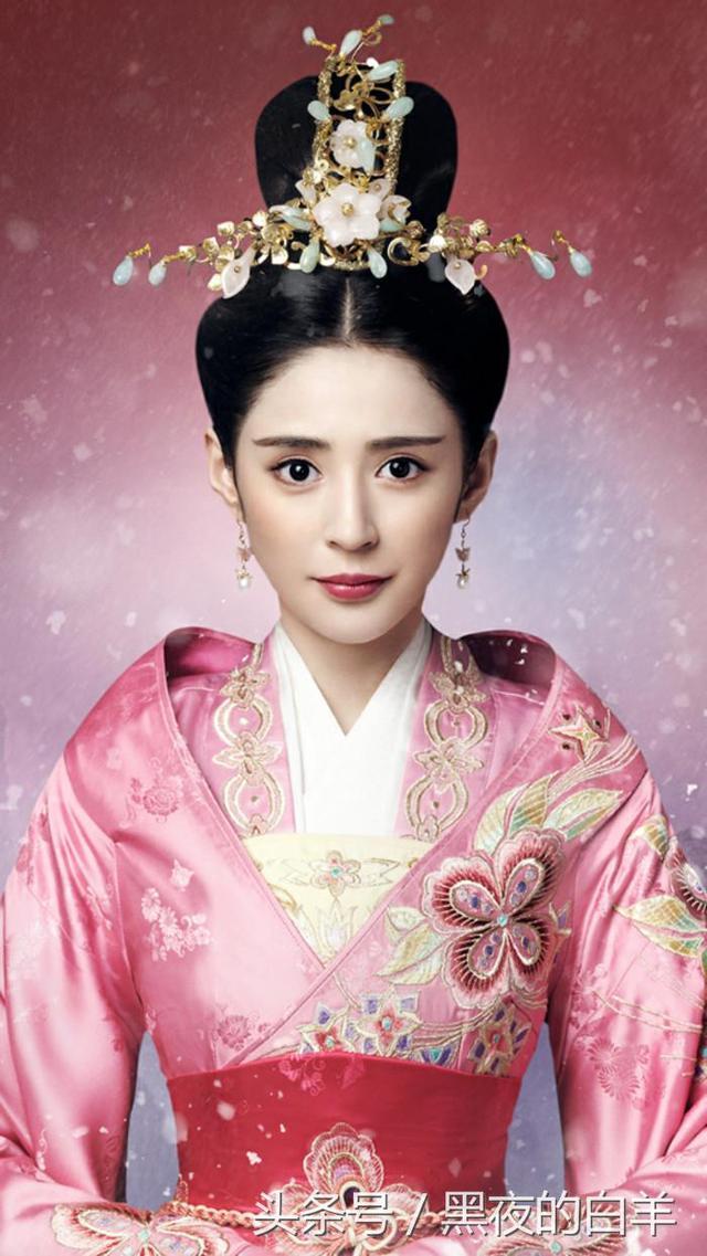 《錦繡未央》中李長樂的眼睛真的好迷人啊! - 每日頭條