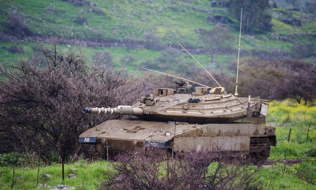 坦克圖鑑——以色列 梅卡瓦MK4型 主戰坦克 - 每日頭條