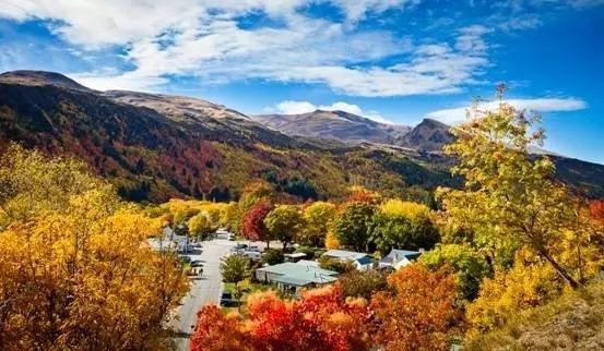 我們追逐春天腳步的時候 紐西蘭卻用秋色驚艷全球 - 每日頭條