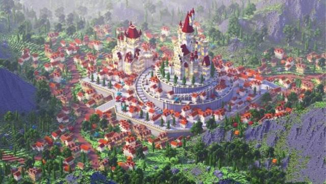 我的世界:中國風的天堂?十分獨特,當中還有十二生肖的建築 - 每日頭條
