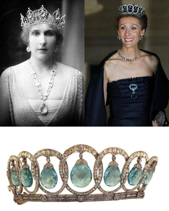 歐洲王室偏愛海藍寶項鍊和冠冕,只因人美海藍寶石更美 - 每日頭條