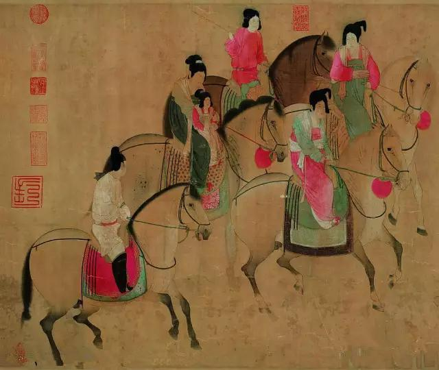 古畫集錦| 中國古代仕女圖(第三期) - 每日頭條