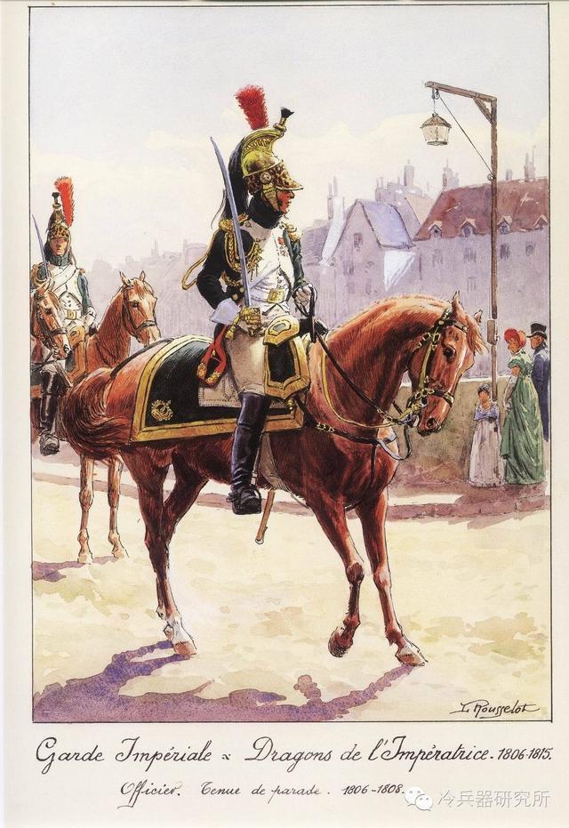 卡賓槍,胸甲,馬刀—盤點拿破崙時代的5大騎兵 - 每日頭條
