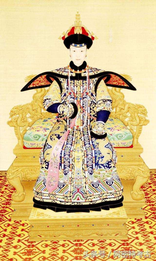 清代皇后清晰畫像,你絕對想像不到誰最漂亮! - 每日頭條
