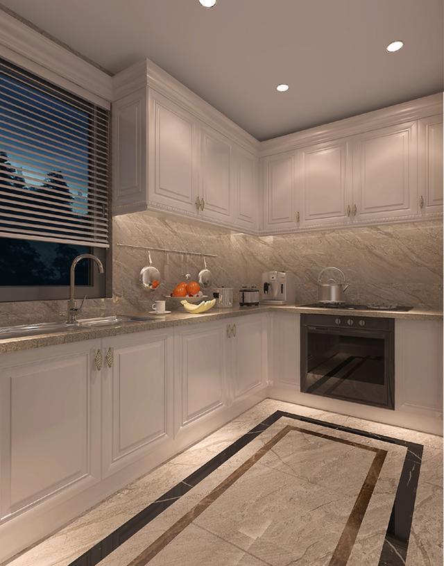 kitchen flooring trends slim cabinet 厨房铺什么地板好 9种常见的厨房地板任你选 每日头条 天然石材地板