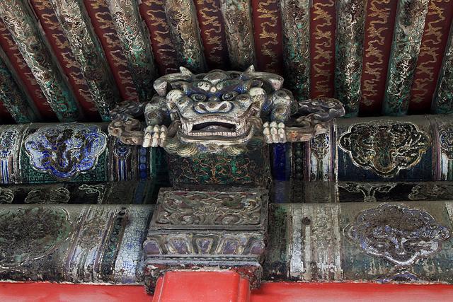 未開放:直擊北京故宮最大的佛堂,雖斑駁脫落,但仍不失皇家之氣 - 每日頭條